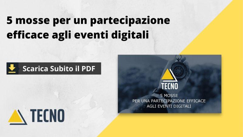 5 mosse per una partecipazione efficace agli eventi digitali